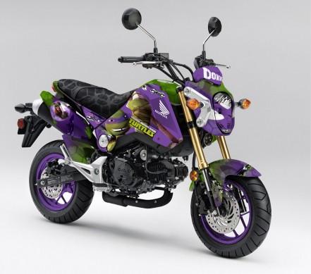 Honda Groms Ninja Rùa tới Tokyo Auto Salon