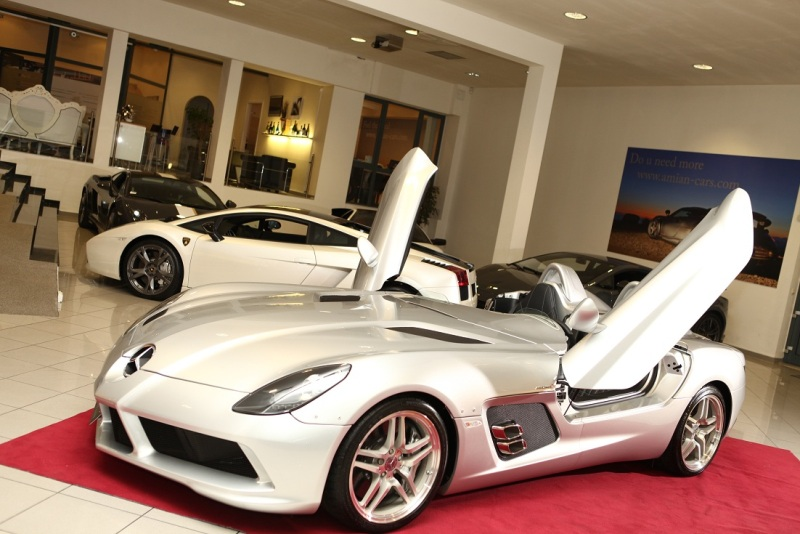 Ghé thăm showroom siêu xe Amian-cars tại Đức