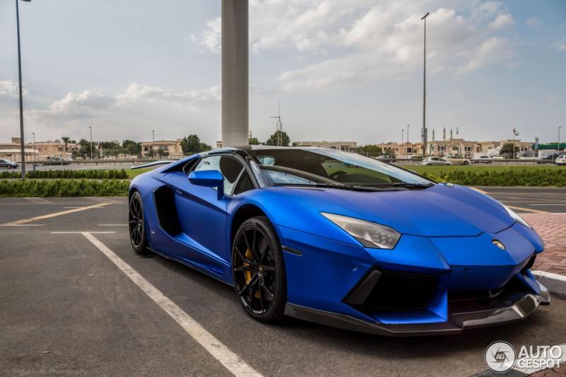 Ngắm Lamborghini Aventador LP900-4 Molto Veloce Roadster trên đường phố Dubai