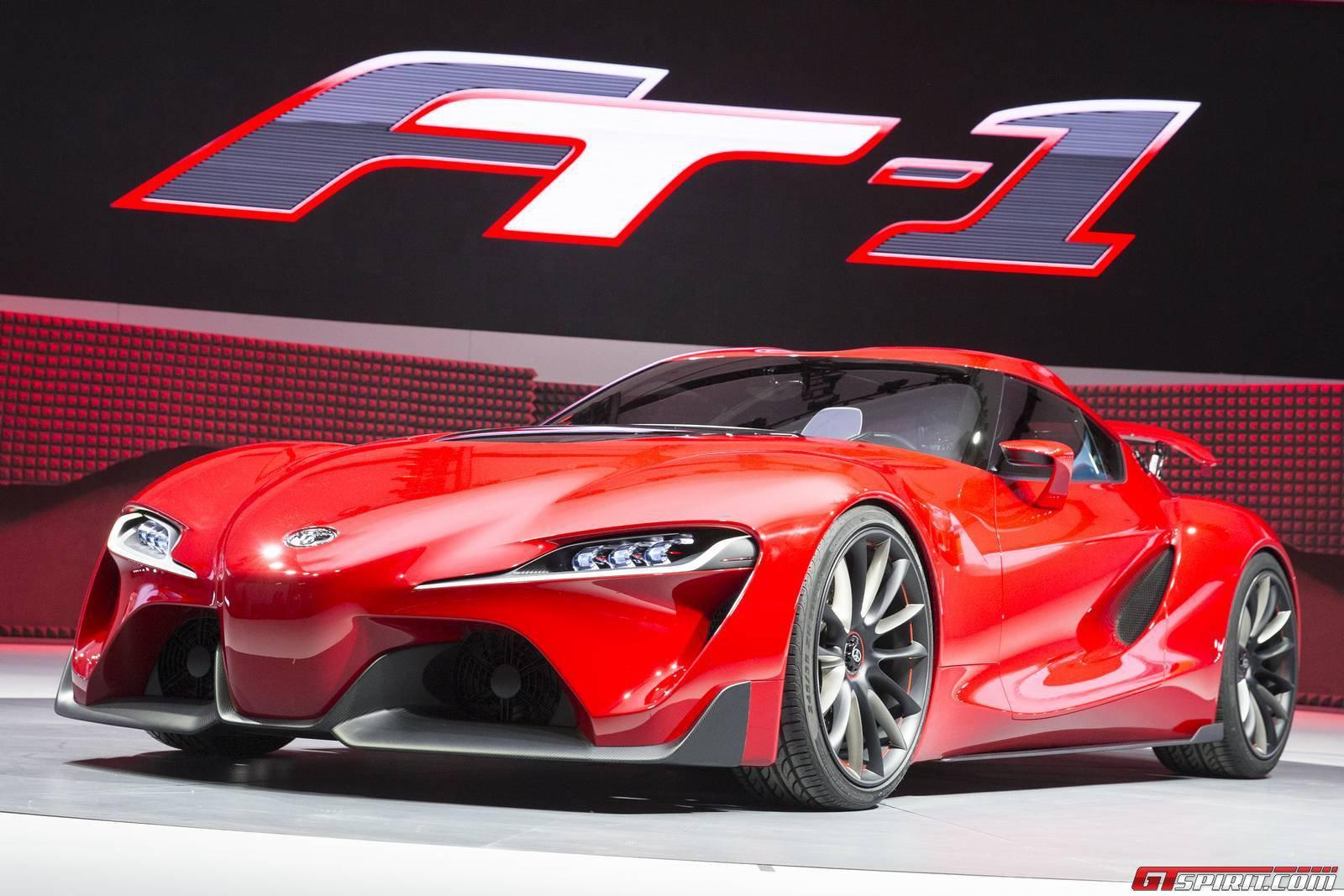Detroit Auto Show 2014: Toyota FT-1 Concept bất ngờ lộ diện