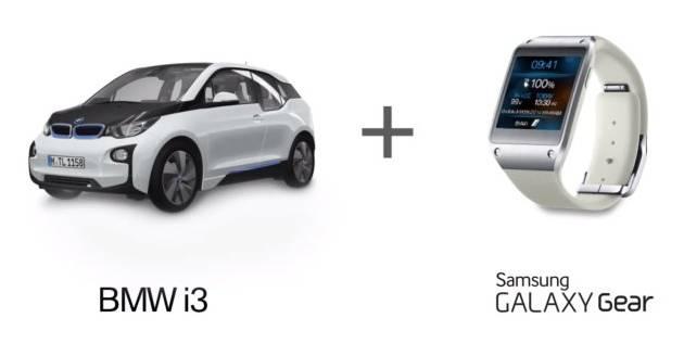 Độc đáo công nghệ điều khiển BMW i3 bằng Samsung Galaxy Gear