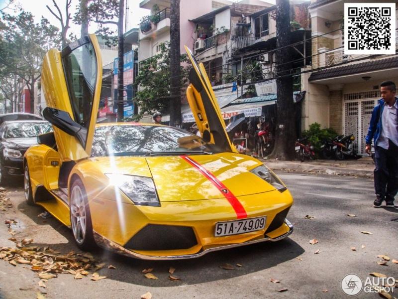 Báo Tây choáng với Lamborghini Murciélago LP640 độ tại Việt Nam