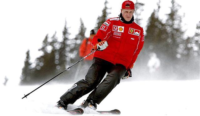 Michael Schumacher hồi phục sau tai nạn