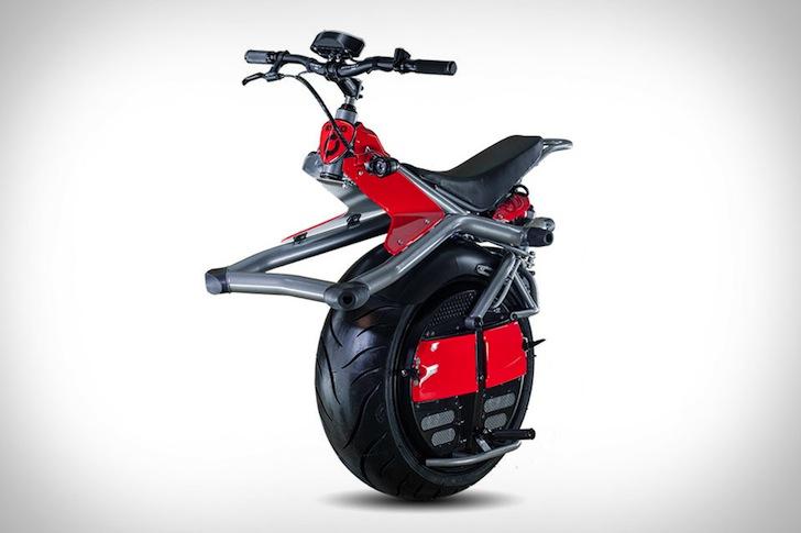 Ấn tượng xe mô tô 1 bánh Ryno Microcycle
