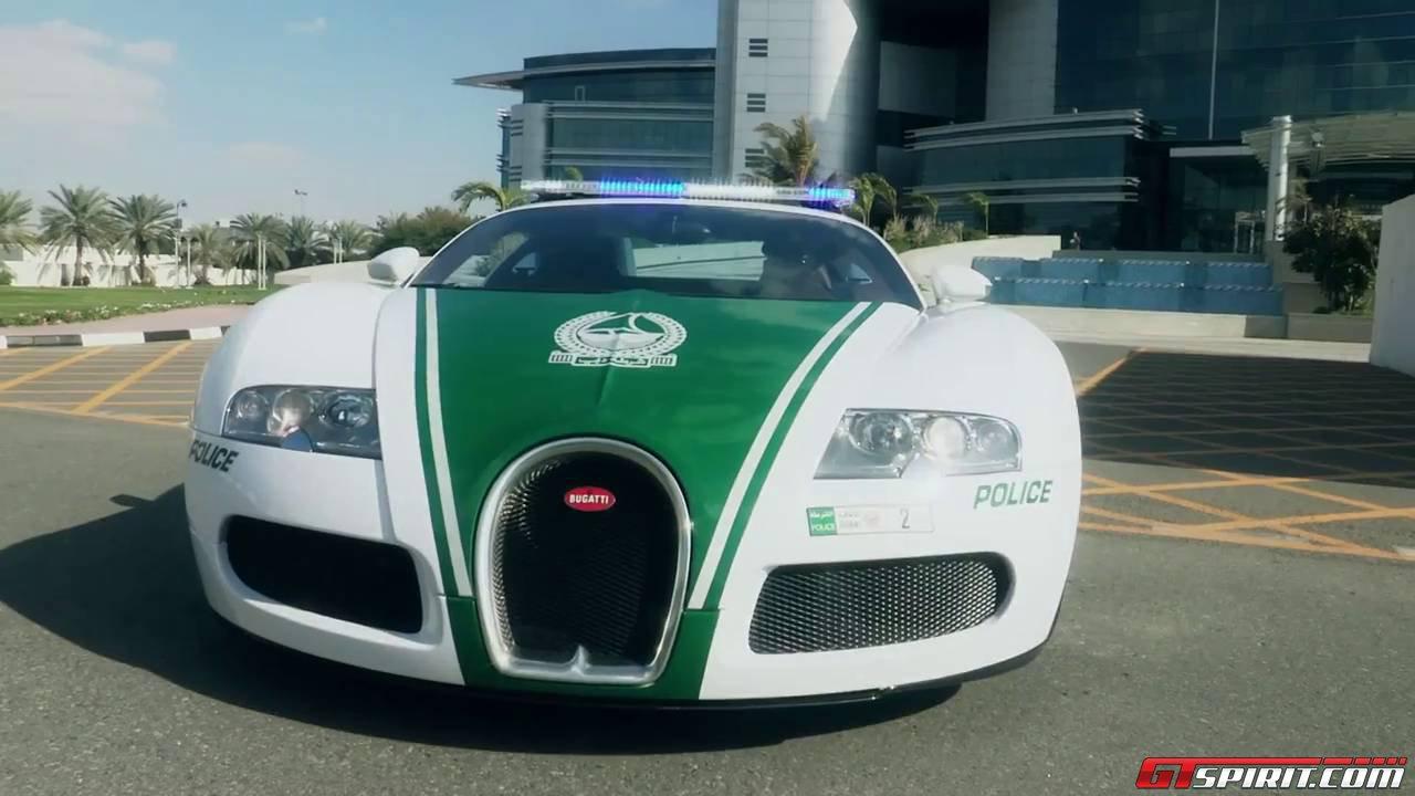 Cảnh sát Dubai bổ sung Bugatti Veyron vào dàn siêu xe tuần tra
