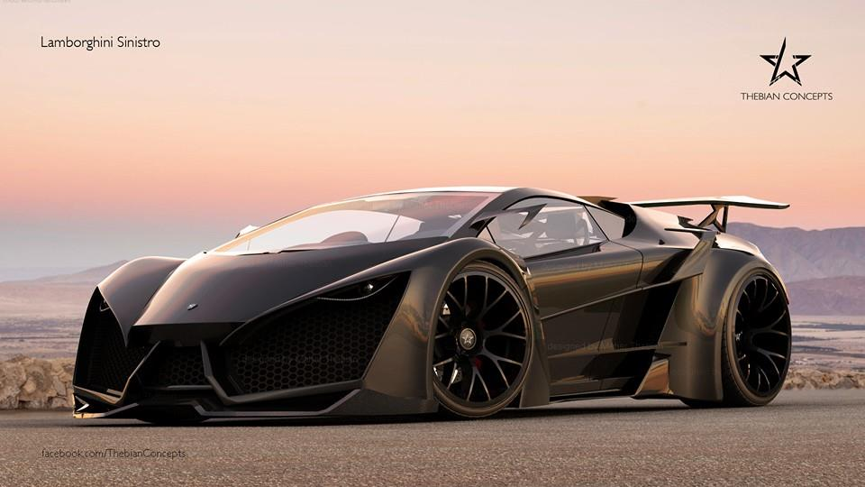 Lamborghini Sinistro Concept cực ngầu