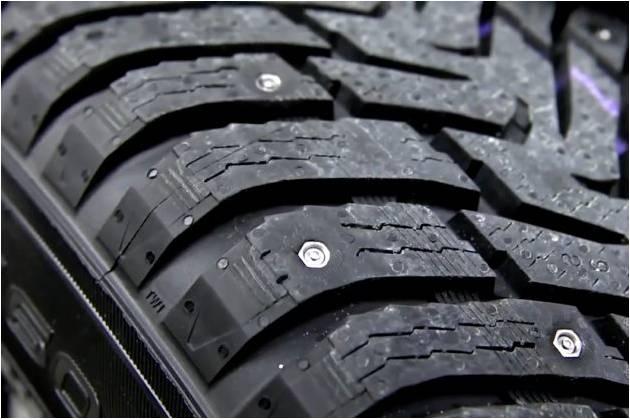 Nokian ra mắt lốp nạm đinh tự động
