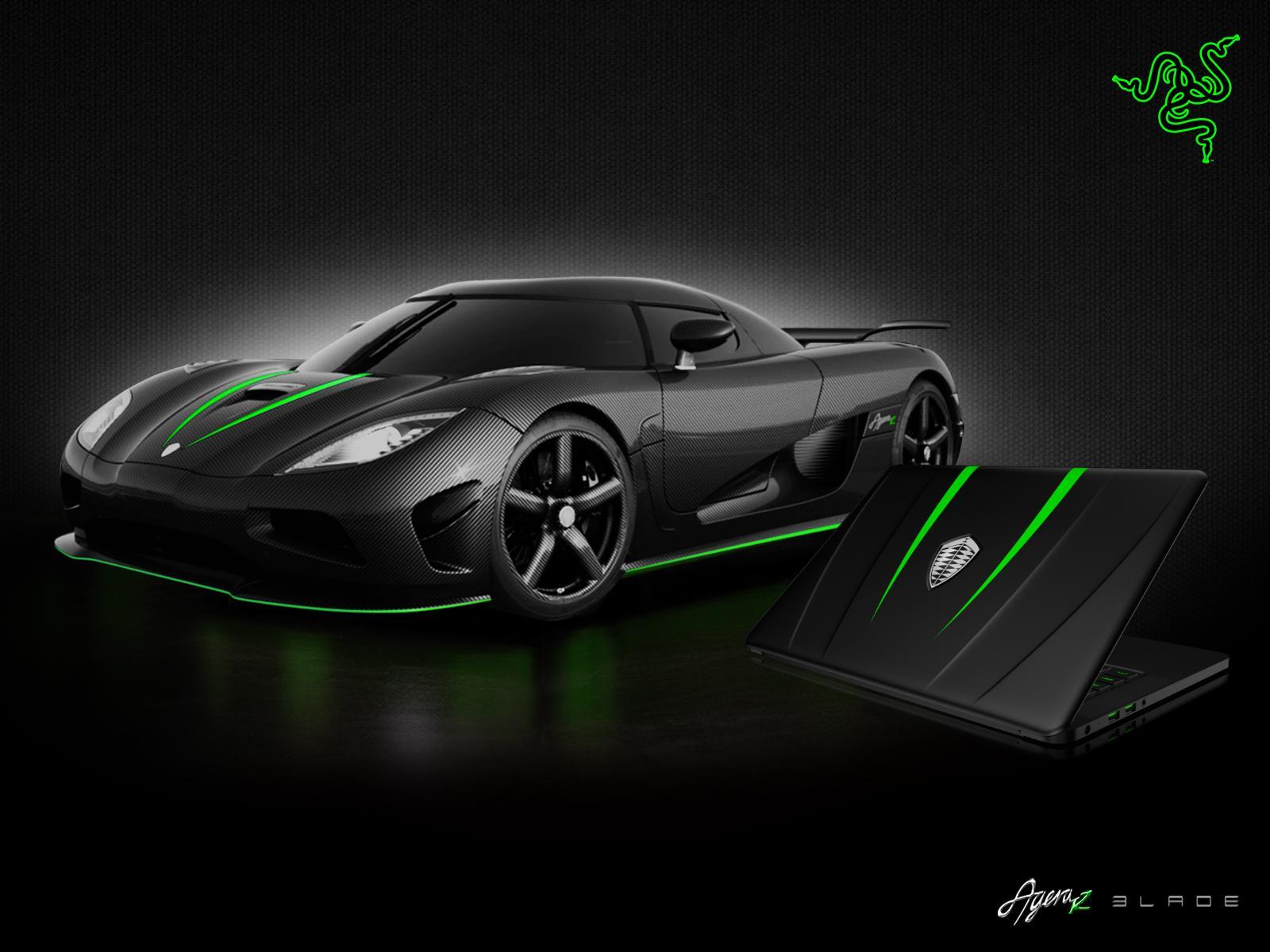 """Choáng"" với Laptop siêu xe Koenigsegg Razer Blade"