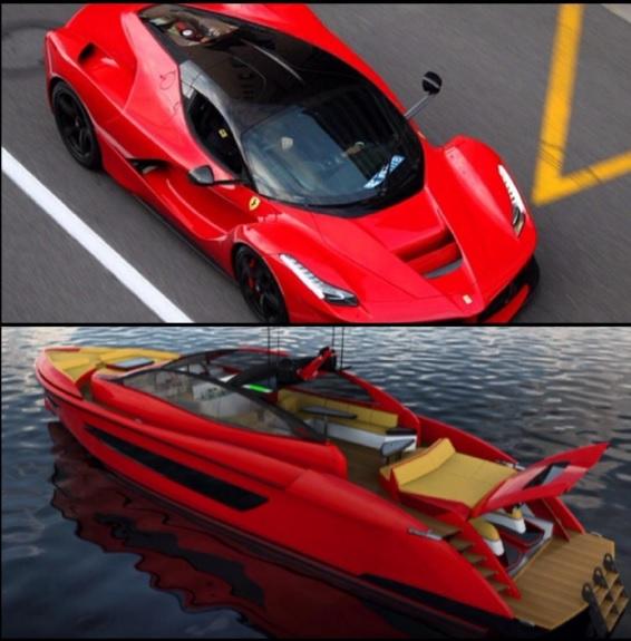 Du thuyền 4 triệu đô làm ngỡ ngàng fan Ferrari