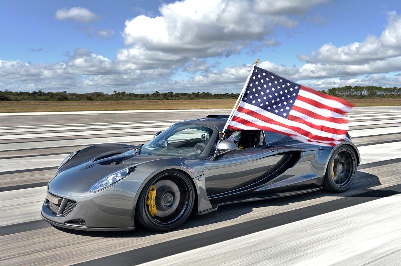 Hennessey Venom GT lập kỉ lục mới, phế ngôi vua của Bugatti Veyron