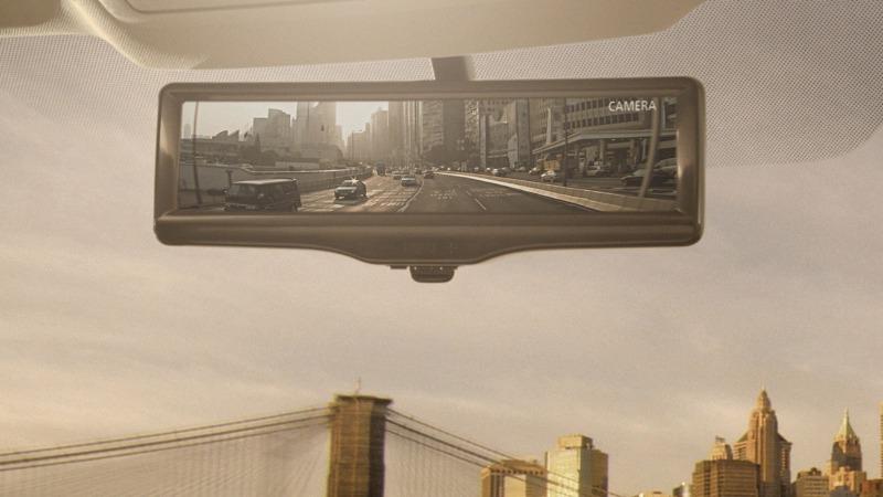 Nissan biến gương chiếu hậu thành màn hình LCD