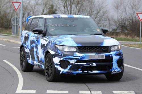 Bắt gặp Range Rover Sport RS trên đường thử