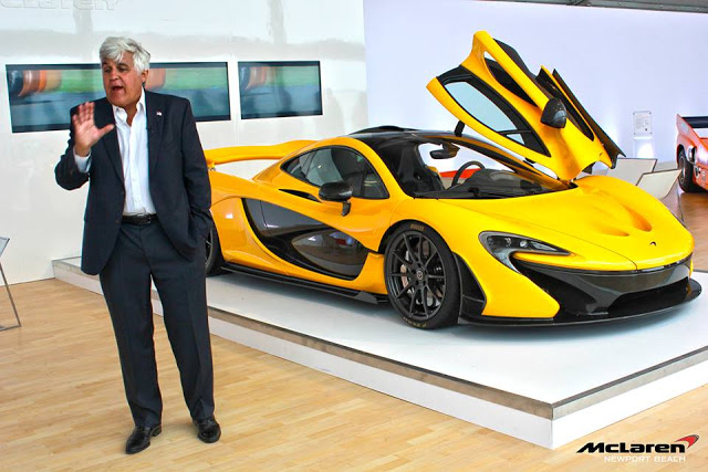 """Ngôi sao truyền hình Jay Leno mạnh tay """"tậu"""" McLaren P1"""