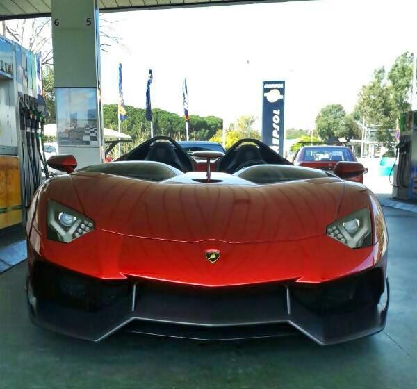 Siêu xe Lamborghini Aventador J độc nhất thế giới tái xuất