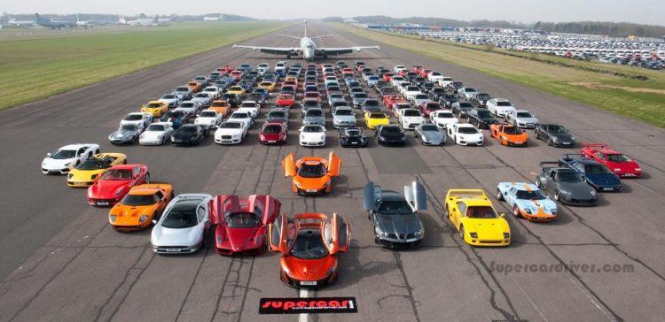 150 xe khủng họp mặt tại ngày hội siêu xe lớn nhất nước Anh