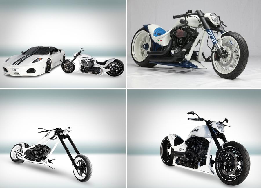 Bộ sưu tập mô tô mang nhãn siêu xe
