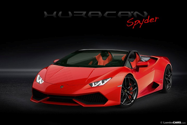 Xem trước phiên bản mui trần của Lamborghini Huracan