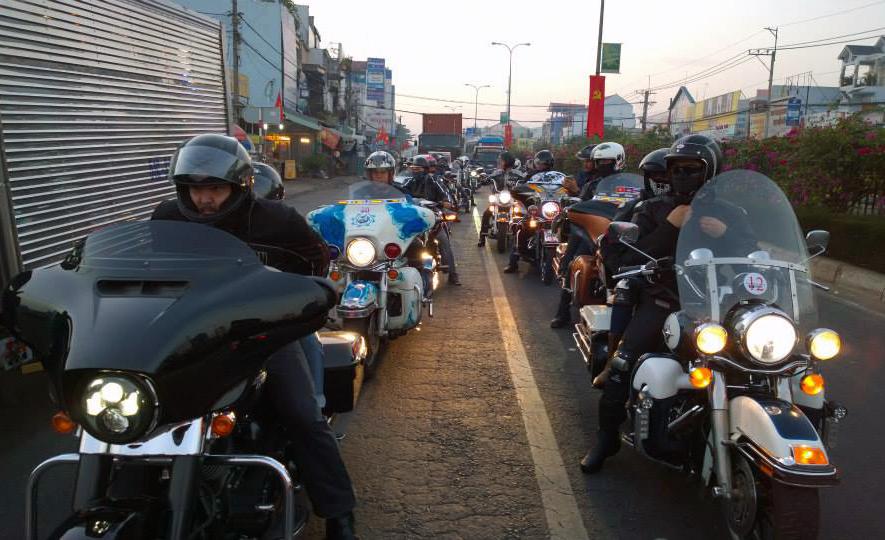 HOG Saigon Chapter lên đường dự ngày hội mô tô tại Thái Lan