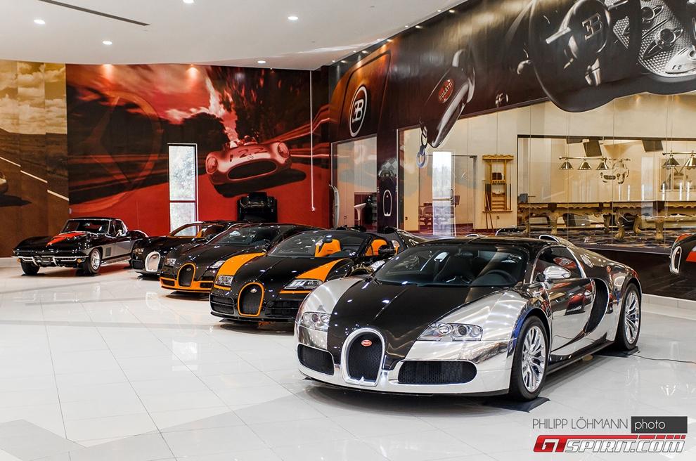 Choáng với garage cực khủng của Thái tử Abu Dhabi