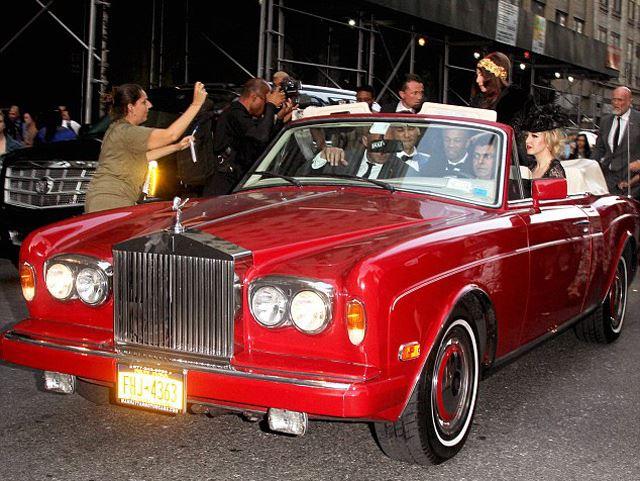 Đấu giá xe sang của Lady Gaga