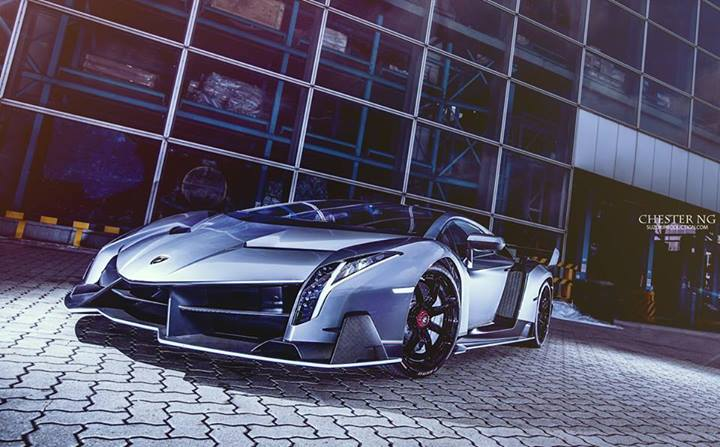 Lamborghini Veneno bất ngờ cập bến Hong Kong