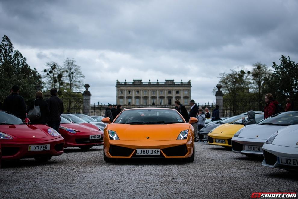 Siêu xe quần tụ bên lâu đài Clivedon House