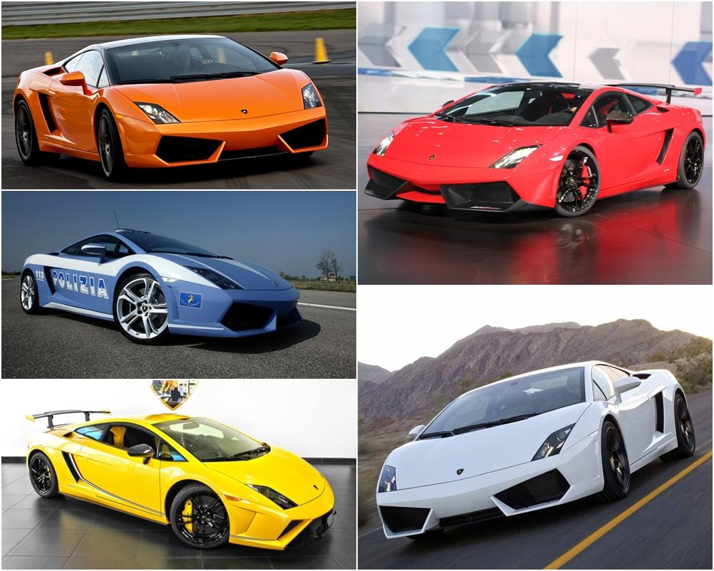 """10 phiên bản """"đỉnh"""" nhất của siêu xe Lamborghini Gallardo"""
