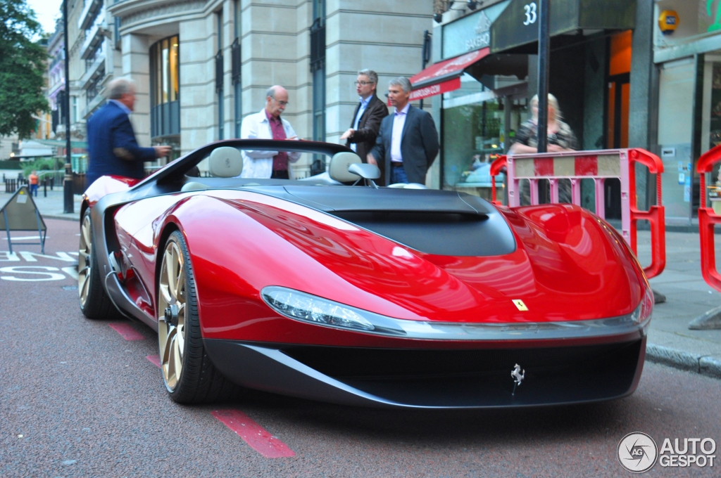 """Xế lạ"" Ferrari Pininfarina Sergio bất ngờ xuống phố"