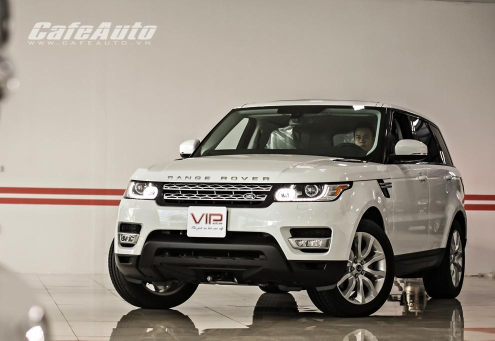 Khám phá SUV sang Range Rover Sport tại Việt Nam