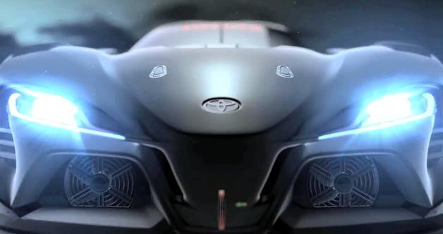 Phiên bản mới của Toyota FT-1 Concept sắp xuất hiện trên game