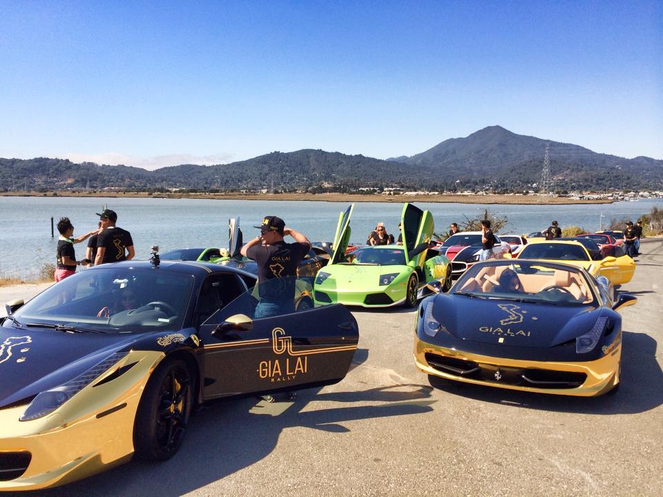 Dàn siêu xe Gia Lai Team náo loạn đường phố Mỹ