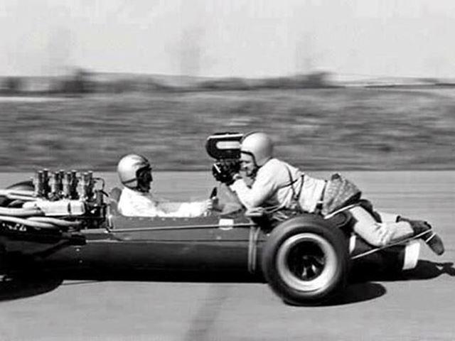 Những thước phim F1 xưa đã được quay như thế nào?