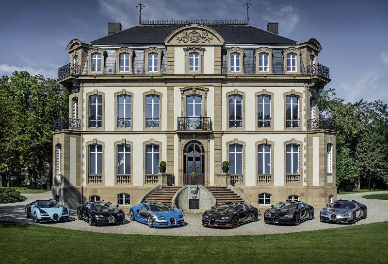 Choáng với độ giàu có của chủ xe Bugatti