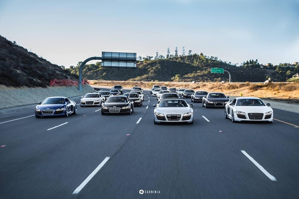 """Biệt đội"" Audi R8"