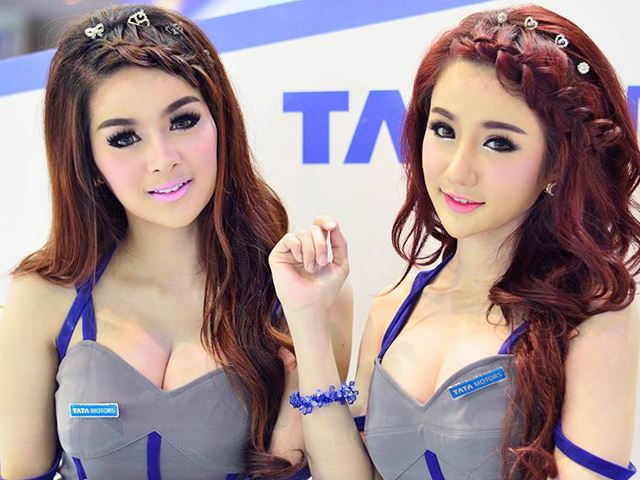 Dàn mỹ nữ làm nóng Thailand International Motor Expo 2014