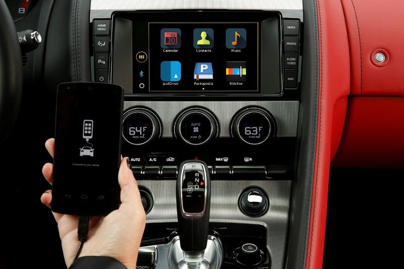Jaguar Land Rover giới thiệu ứng dụng mới trên xe hơi