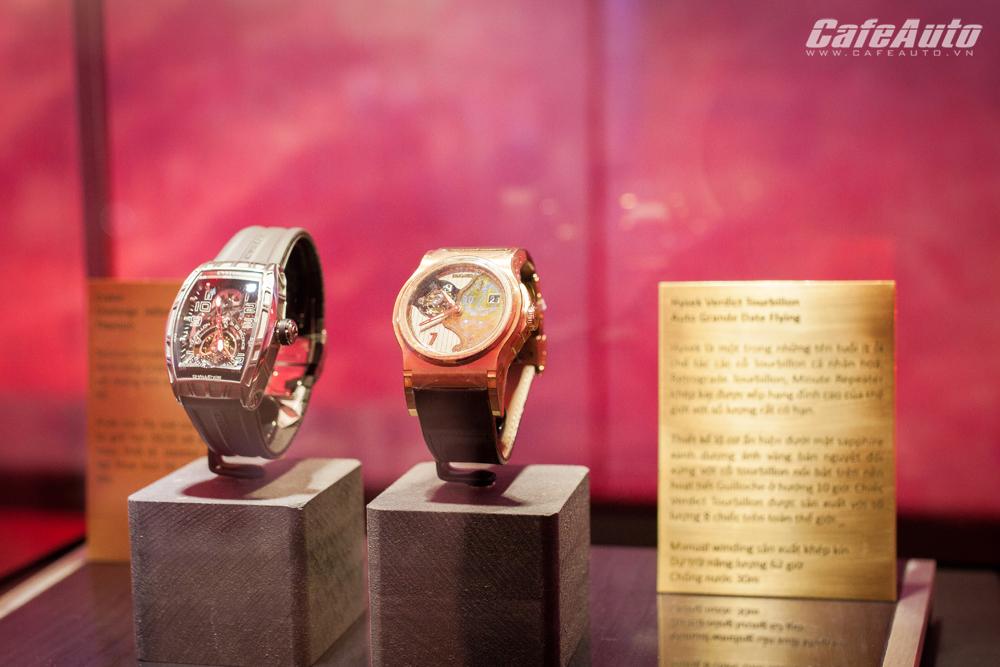 Mãn nhãn với bộ sưu tập đồng hồ trị giá 33,5 tỷ đồng tại Rolls-Royce Hanoi