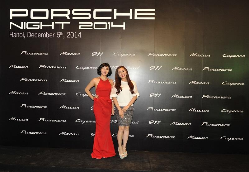 Dàn sao tề tựu trong đêm tiệc Porsche