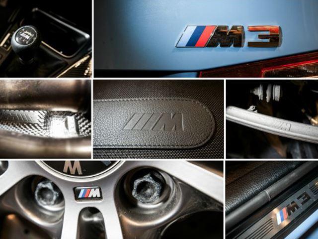 Choáng với số lượng logo ///M trên BMW M3