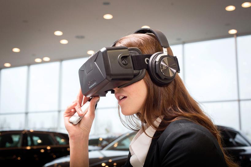 Audi VR Experience: Bán xe thời công nghệ
