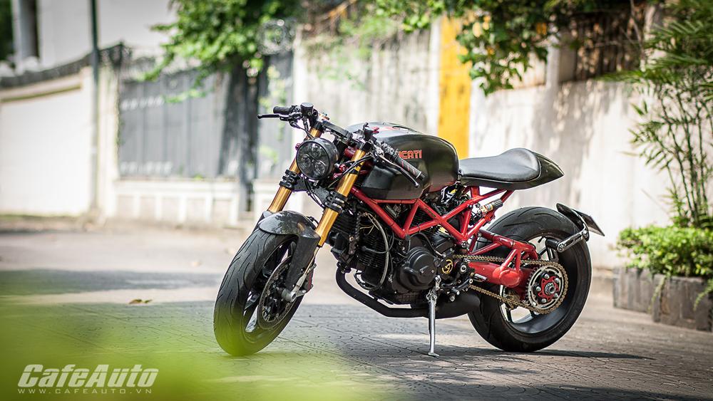 Cận cảnh Ducati Monster độ Cafe Racer độc nhất tại Việt Nam