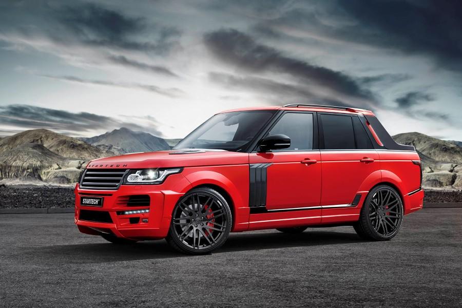 Brabus Startech biến Range Rover thành bán tải