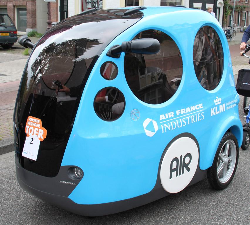 Xe chạy bằng không khí sắp được sản xuất hàng loạt