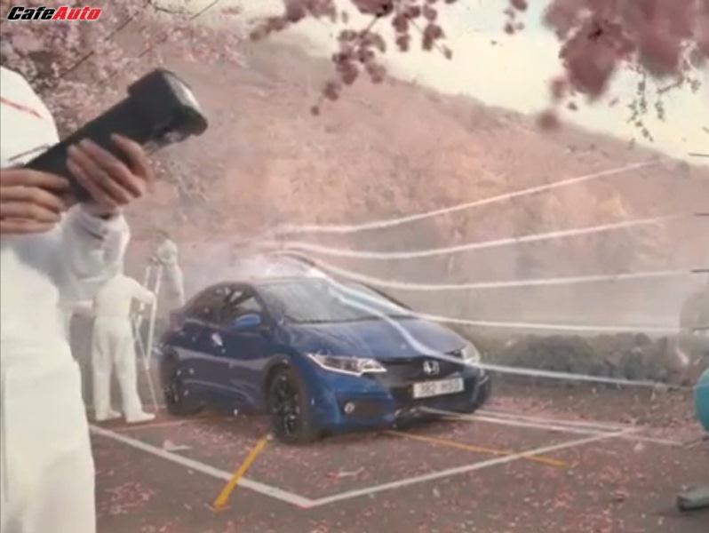 Xem quảng cáo cực kỳ ấn tượng của Honda về Civic