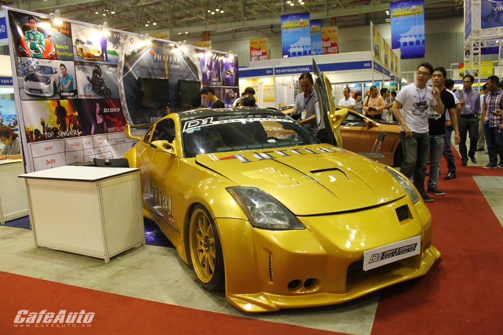D1 mang xế độ tới Saigon Autotech 2015