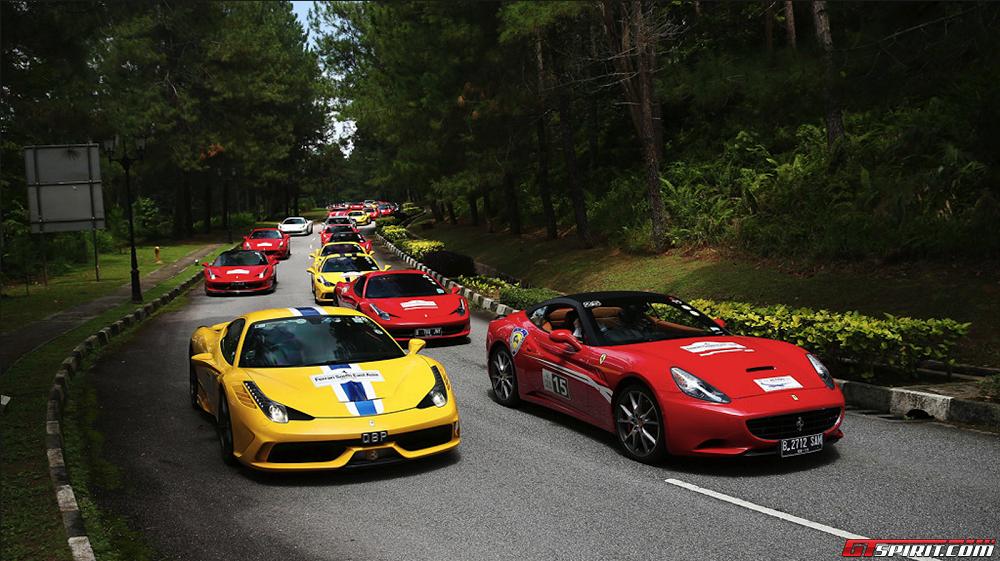 Dàn siêu xe Ferrari Đông Nam Á quy tụ tại Malaysia
