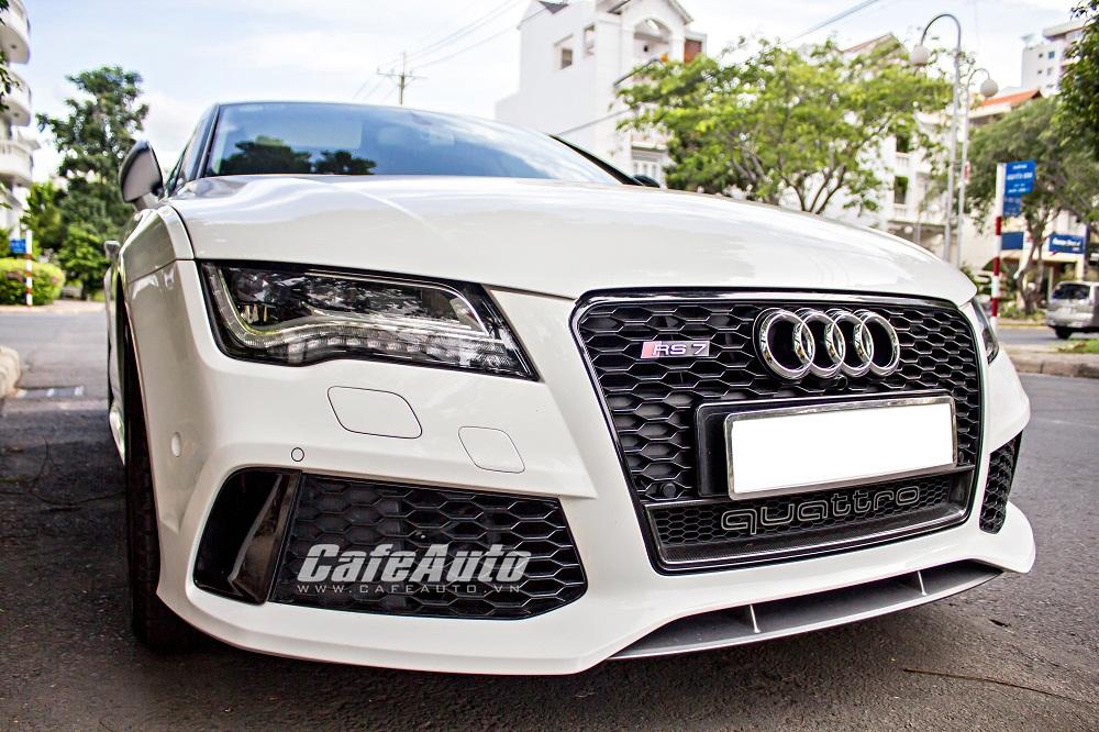 Chiêm ngưỡng Audi A7 Sportback với body kit RS7