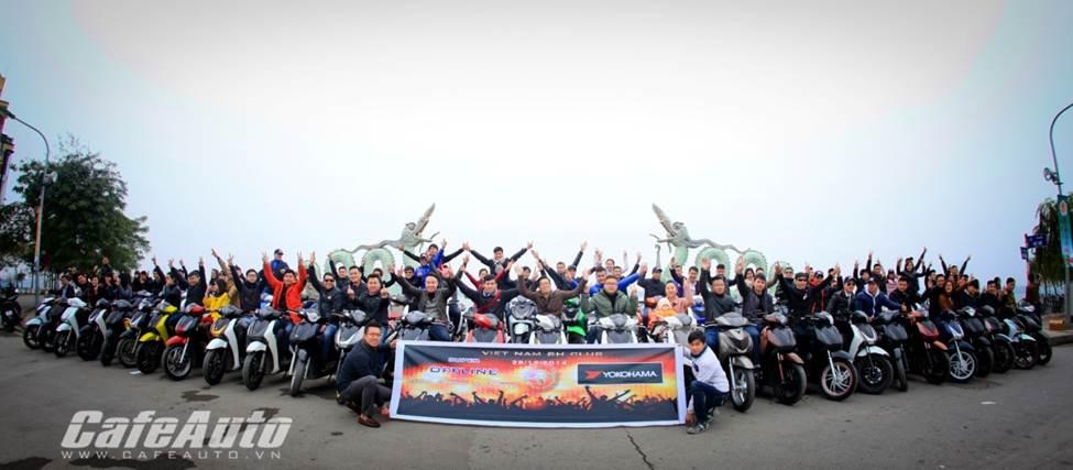 Nhiều hoạt động hấp dẫn tại sinh nhật CLB Honda SH miền Bắc