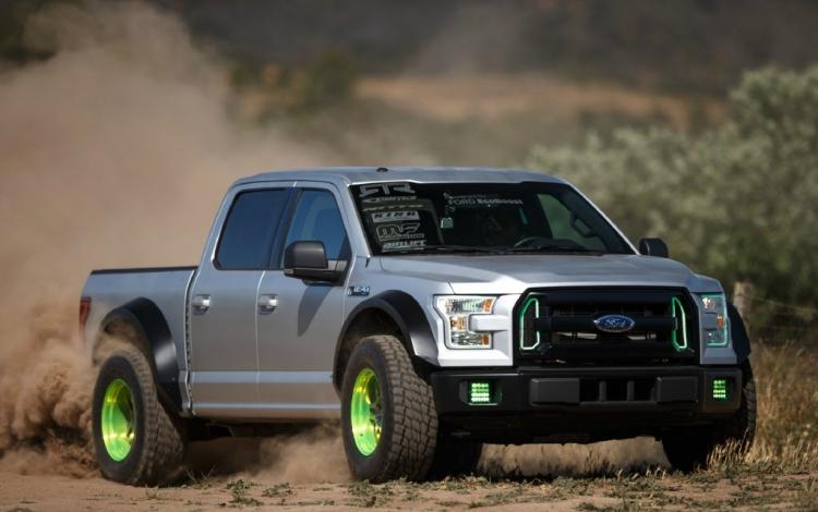 Thoả sức đam mê độ phá cách cùng Ford F150
