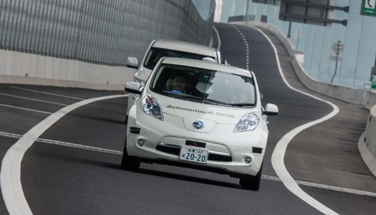 Nissan Leaf đã có khả năng tự lái
